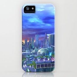 flowtopia iPhone Case