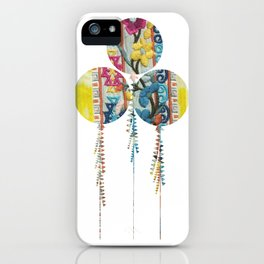 Balloons fabric iPhone Case