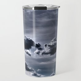 HDR Sky in the Adirondack Mountains Travel Mug