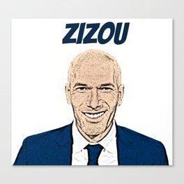 Zizou Canvas Print