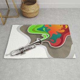 Magic Trumpet Rug