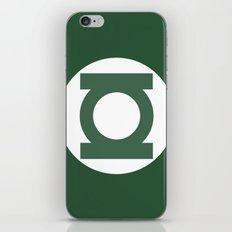 Green Lantern Vector Logo iPhone & iPod Skin