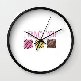 I Fancy You Wall Clock
