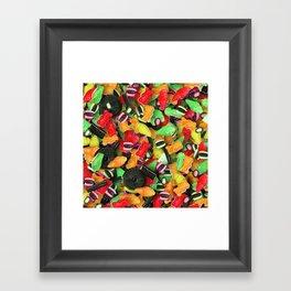 Candy 8 Framed Art Print