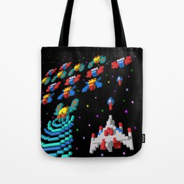 Inside Galaga Tote Bag