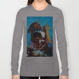Suzie then removed her mask and caused a mighty stir Long Sleeve T-shirt