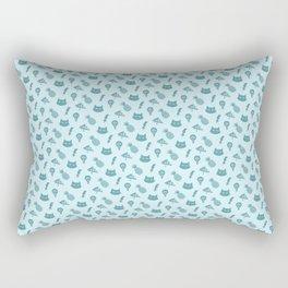 Pizza Pineapple Cat pattern Rectangular Pillow