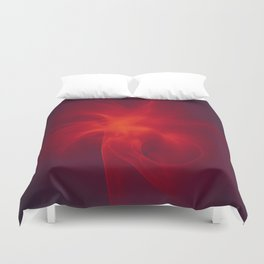 Flames Within Duvet Cover