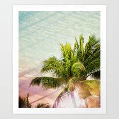 Waikiki Morning Art Print