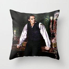 Sir Thomas Sharpe - Crimson Peak V (Full Version) Throw Pillow
