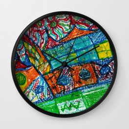 Wonders of Architecture Wall Clock