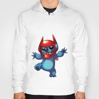 lilo and stitch Hoodies featuring Stitch by WTFmoments