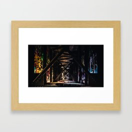 An Artist's Wonderful Bridge Framed Art Print