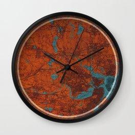 Raymond Chandler Boston quote Wall Clock