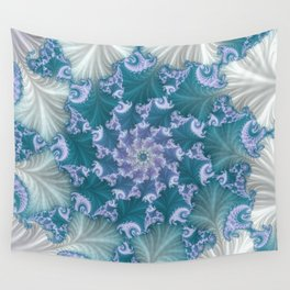 floral abstract background Wall Tapestry