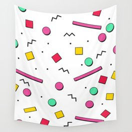 1980s retro pattern Wall Tapestry