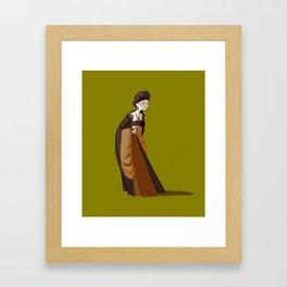 Jane Boleyn - second Henri VIII wife Framed Art Print