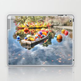Floating Glass Laptop & iPad Skin