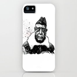 General George Smith Patton Jr. iPhone Case
