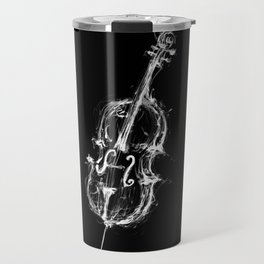 Black Cello Travel Mug