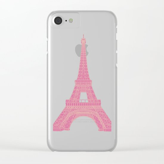 OUI OUI Clear iPhone Case