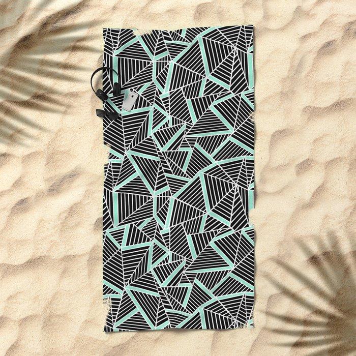 Ab 2 Repeat Mint Beach Towel
