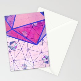 Icosahedron Geometric Shape Constellation Dream Stationery Cards