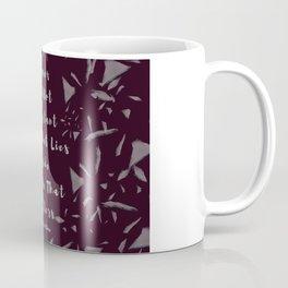 Thrones Made of Glass Shatter. Coffee Mug
