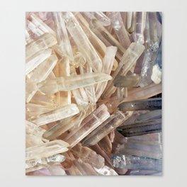 Sparkly Clear Magical Unicorn Crystal Shards Canvas Print