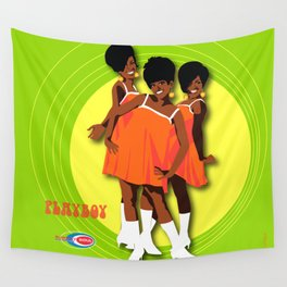 The Marvelettes Subway Soul Wall Tapestry