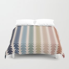 Maude Pattern- Vintage Multicolor Duvet Cover