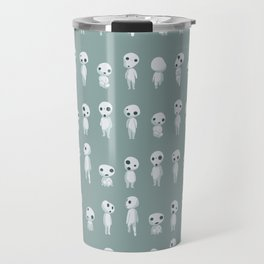 Ghibli Spirits - Kodama Mononoke pattern Travel Mug