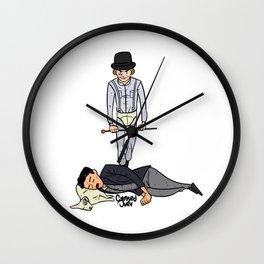 Ultraviolence alert Wall Clock