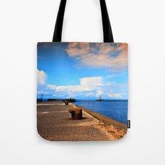 Ayr Pier  Tote Bag