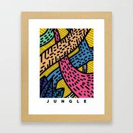 The Safe Jungle Framed Art Print