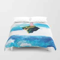 lighthouse Duvet Covers featuring Lighthouse by Vadim Cherniy