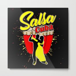 Salsa, Teacher, Hip Hop Metal Print