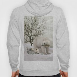 Awesome polar bear Hoody