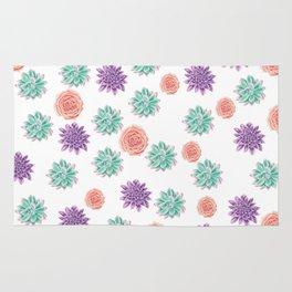 floral pattern xv Rug