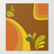 retro pattern Canvas Print
