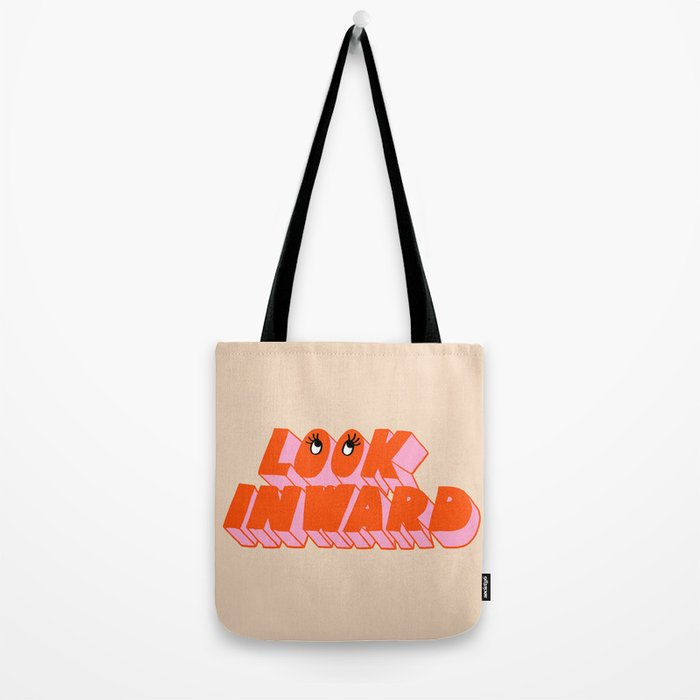 Look Inward Tote Bag