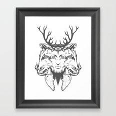 GOD II Framed Art Print