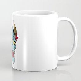 Hannya Mask Coffee Mug