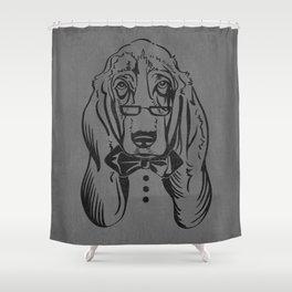 Bassett Bow Tie Shower Curtain