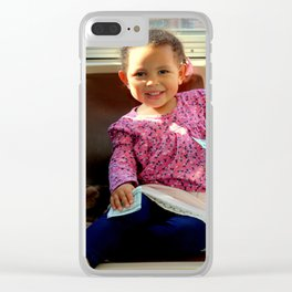 An Uphill Smile, Worth A Zillion Clear iPhone Case