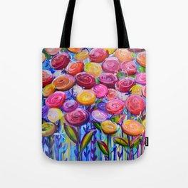 Ranunculus Horizon Tote Bag