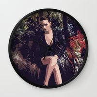 thrones Wall Clocks featuring Gossip of Thrones by MyQ 7