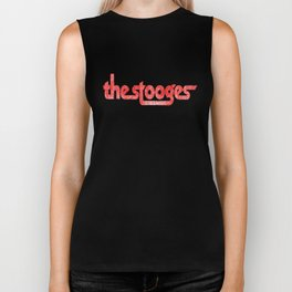 The Stooges distressed (red) Biker Tank