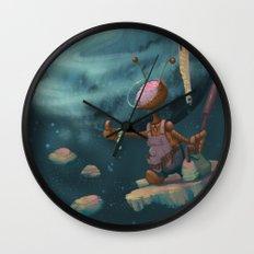 Hitching Wall Clock