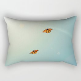 Monarch Sky Love Rectangular Pillow